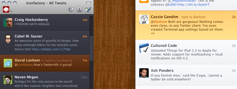 Twitterrific 4 for the Mac is Going To Look Gorgeous