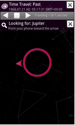 sky map blog post 2 Google Sky Map now lets you see star configurations in the past and future
