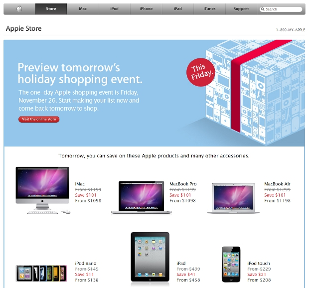 store Apple Store taking $101 off MacBook Air and Pro tomorrow, $41 off iPad
