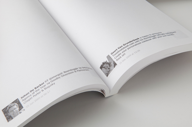 tweetnotebook Book Of Fame turns your Facebook account into an actual book