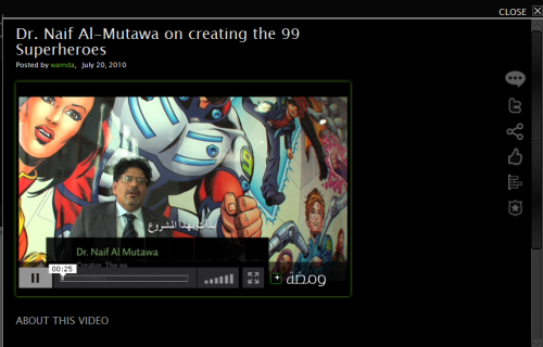 Video Screenshot of the Founder of the 99 from Wamda
