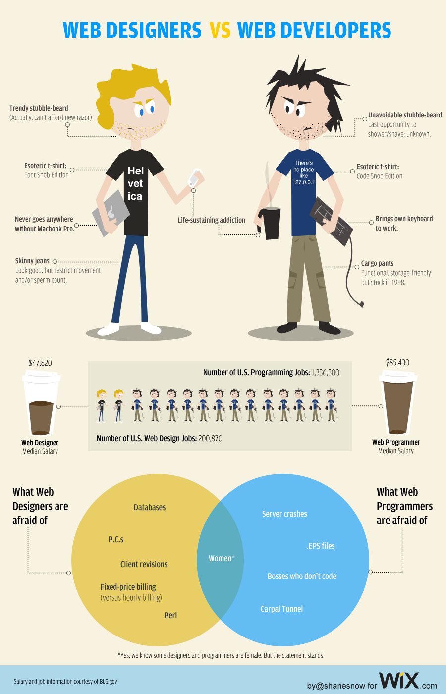 web designers vs developers2  Web Designers vs. Web Developers