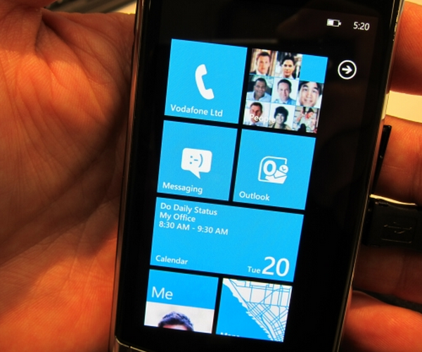 Microsoft does not want you to port WP7 to another phone, sadly