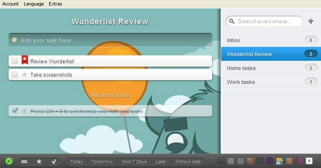 wunderlist Try This: Beautifully simple task lists with Wunderlist