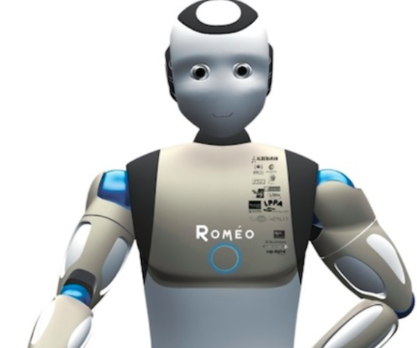 "France's Humanoid ""Romeo"" Robot"
