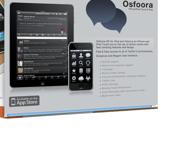 Osfoora for Mac Sneak Peak-Desktop Twitter Clients Still Hot