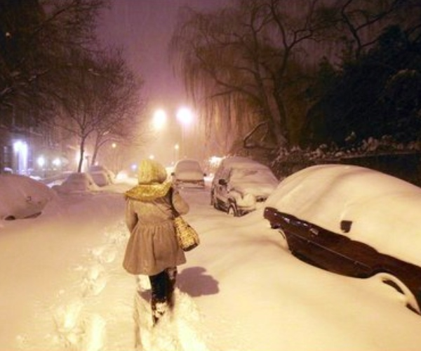 Video: Last Night's East Coast Blizzard, A Timelapse