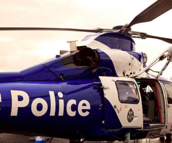 Police helicopter hunts down a 16-year old iPhone thief in Australia