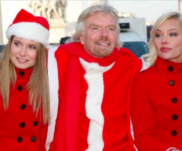 Richard Branson is giving away free Project iPad magazines this Christmas!