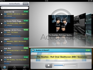 ActionRadio Turn your iPad into the best radio youve ever owned