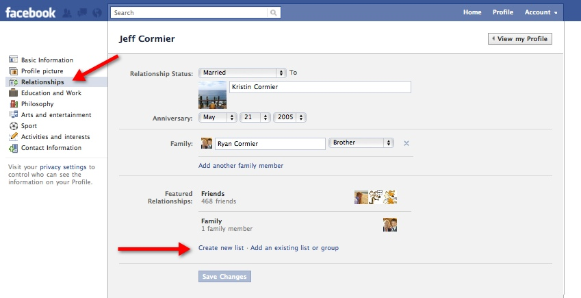 FacebookFriendsLists11 Everything you need to know about the new Facebook profile. The plus, minuses and surprises.