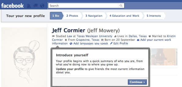 FacebookProfileTour1 Everything you need to know about the new Facebook profile. The plus, minuses and surprises.