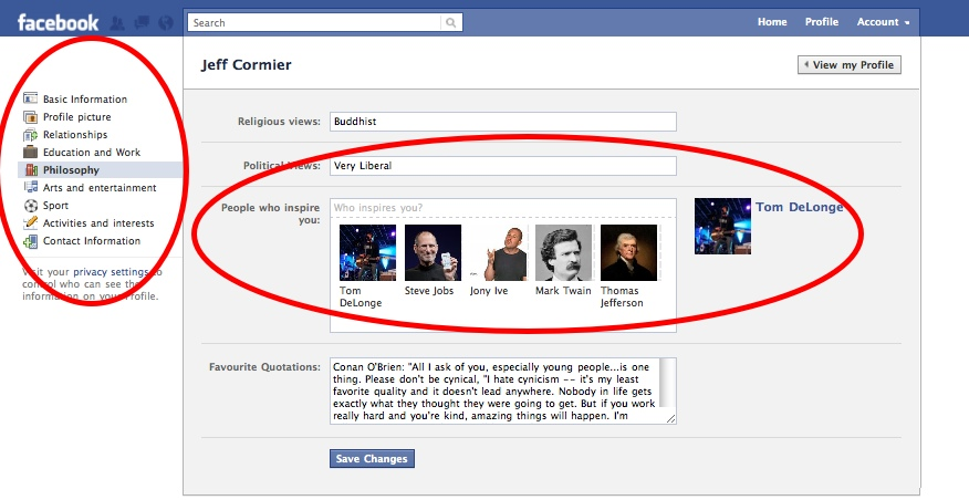 FacebookProfileTour6 Everything you need to know about the new Facebook profile. The plus, minuses and surprises.