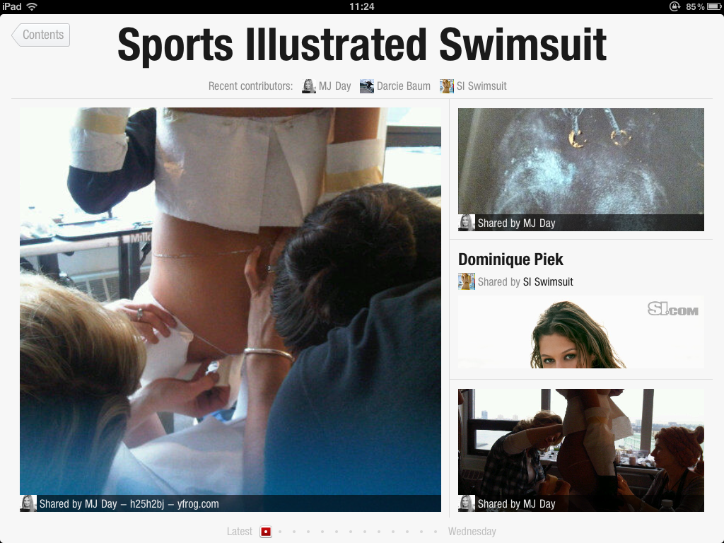 IMG 0101 Flipboard + Sports Illustrated Swimsuit Models = ...  Innovative
