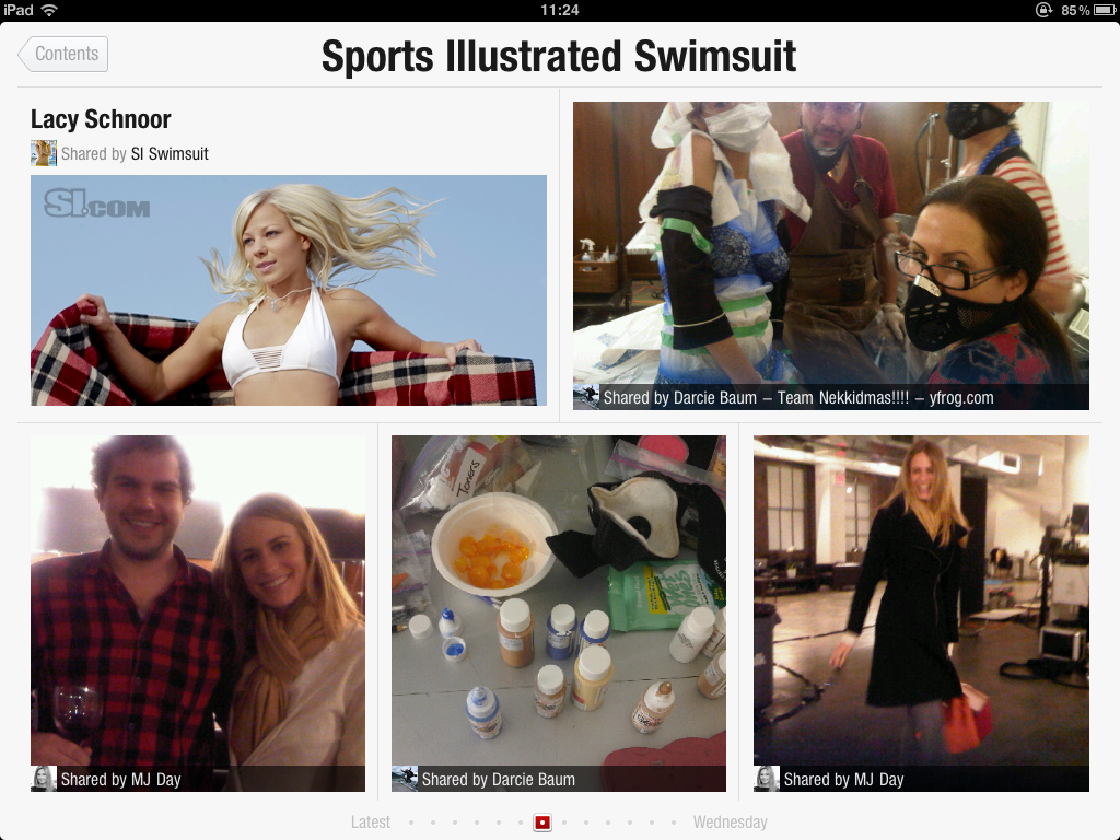 IMG 0102 Flipboard + Sports Illustrated Swimsuit Models = ...  Innovative