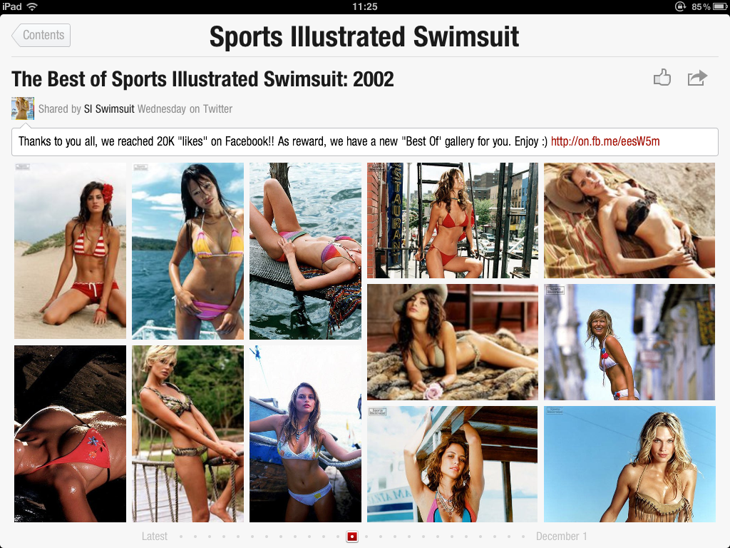IMG 0103 Flipboard + Sports Illustrated Swimsuit Models = ...  Innovative