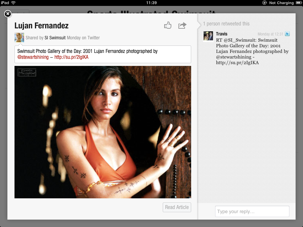 IMG 0104 Flipboard + Sports Illustrated Swimsuit Models = ...  Innovative