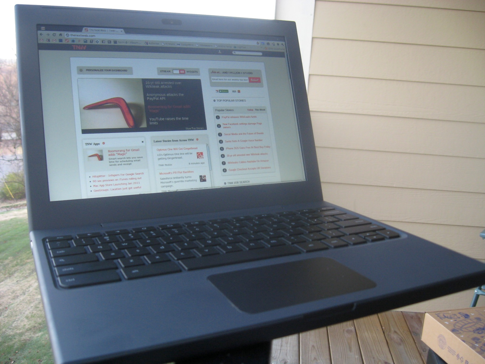 Google's Cr-48 Netbook Review: Is this the dawn of computing's future?
