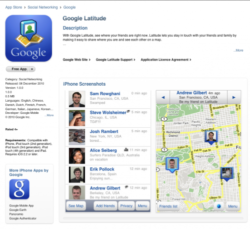 Picture 620 500x457 Google Latitude for iOS, now you see it, now you dont