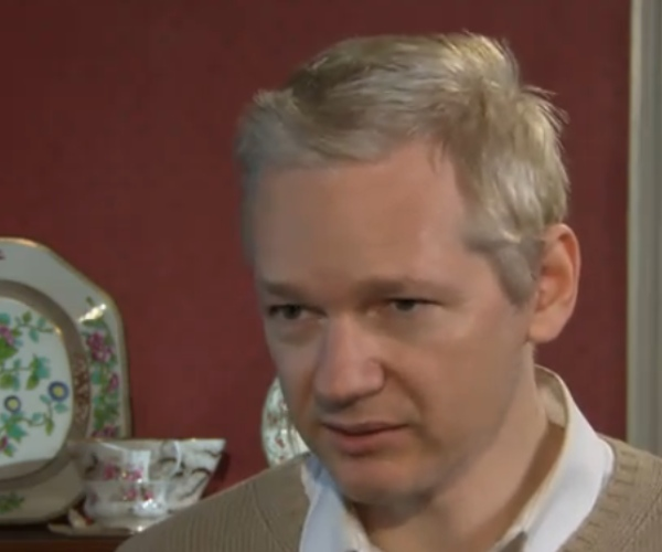 Julian Assange interviewed by David Frost earlier today [Video]