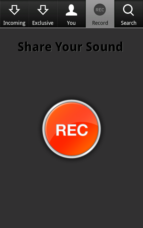 SC Android 3 SoundCloud lands on Android to instantly record and share your audio
