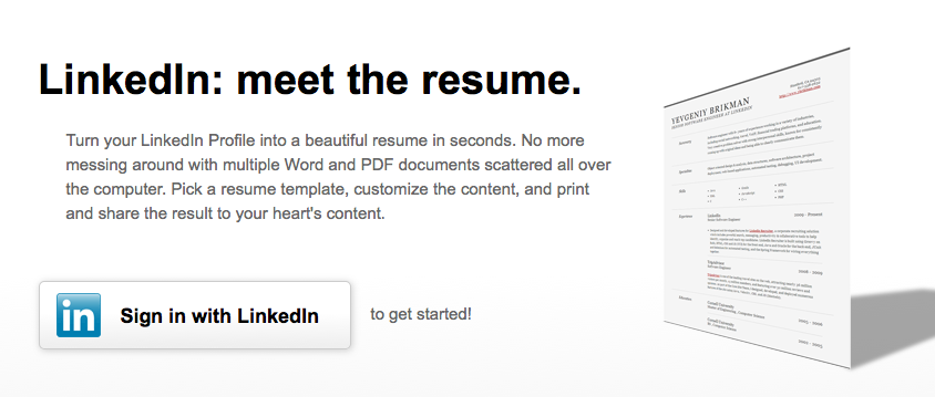 Amazing With ... Regarding Create Resume From Linkedin