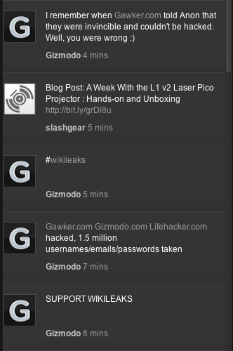 Screen shot 2010 12 11 at 21.25.011 Has Anonymous Hacked Gawker Media?