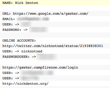 Screen shot 2010 12 12 at 22.54.47 Gawker hackers release file with FTP, author & reader usernames/passwords