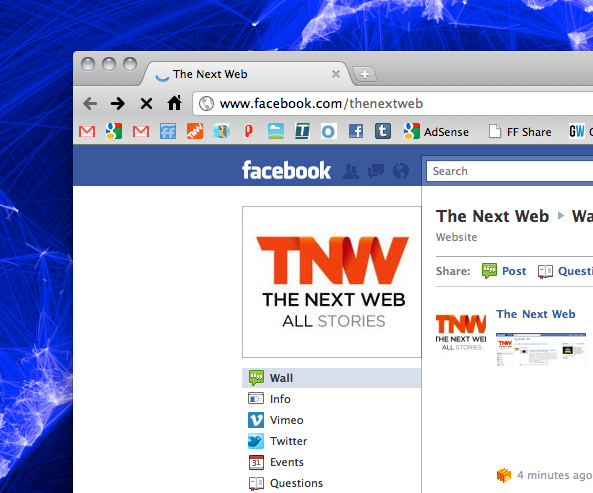 The new Facebook Fan pages are live. No tabs, cleaner interface and more features.