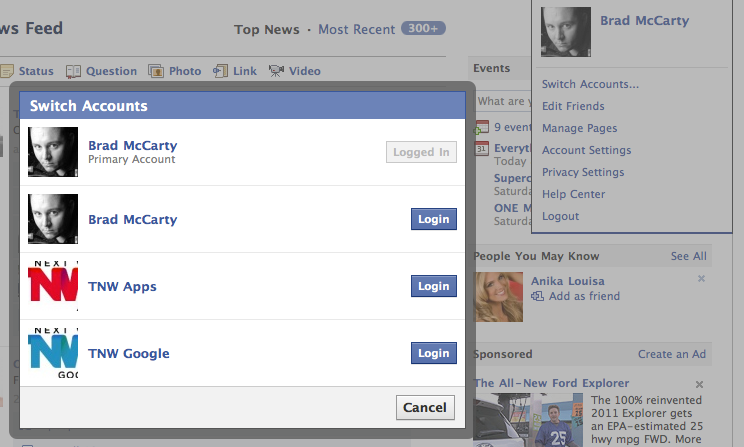 how to get a new facebook account
