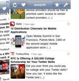 Screen shot 2010 12 16 at 9.26.07 PM e1292556835278 260x267 Make your Twitter use smarter with Smartr for iPhone