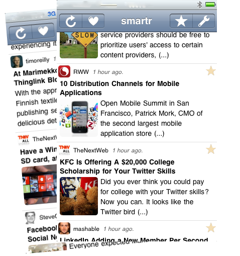 smartr for iPhone