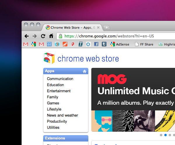 The Chrome Web Store is broken and it's not Google's fault