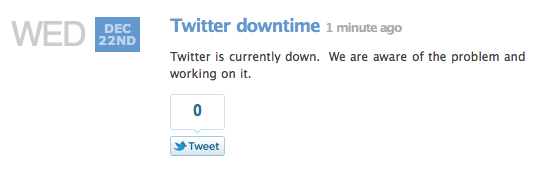 Screen shot 2010 12 22 at 20.15.46 Skype Downtime Complaints Bring The Fail Whale to Twitter [Update: Fixed!]