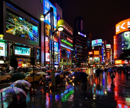 Shinjuku at Night Tokyo Japan 500x416 Yahoo Japan gets approval to use Google search