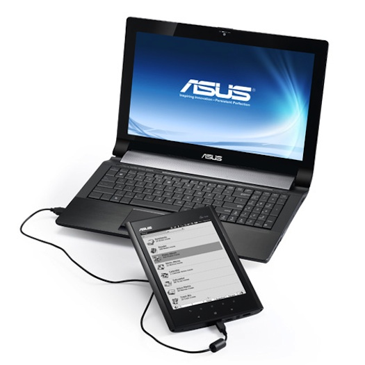 asus EeeNoteEA800 3 Asus Eee Note release schedule announced.