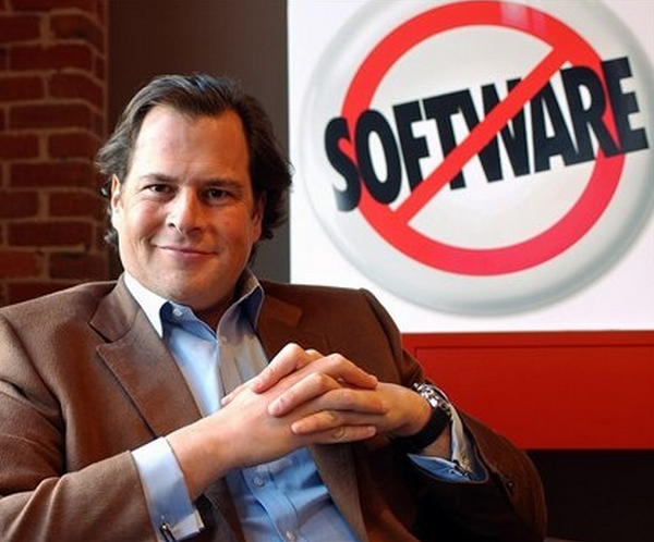 Salesforce brilliantly turns Microsoft's guerrilla marketing campaign against them