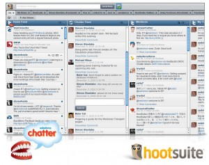 chatter example 300x237 SalesForce.com Chatter Coming to HootSuite
