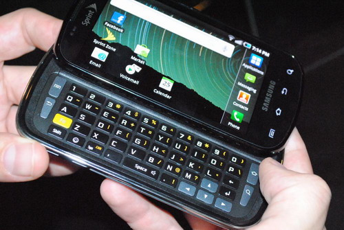 epic Sprint Epic 4G becomes first U.S. Galaxy S handset to get Android 2.2