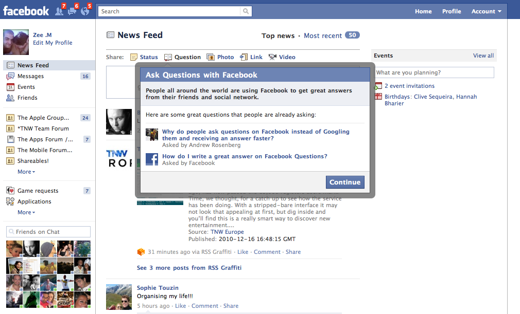 facebook21 Facebook Questions Is Now Available for All to Try [Updated: Not Anymore...]