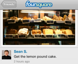 foursquare 260x214 10 Best Social Mobile Apps of 2010