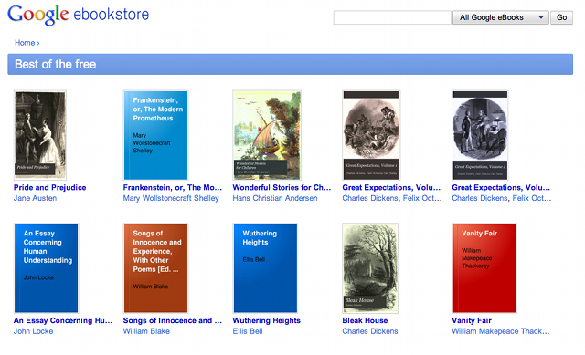 google ebook store Google launches its eBook store in the US. 3m titles available today.