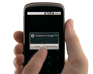 google tv remote Google TV gets new features and a voice powered remote control