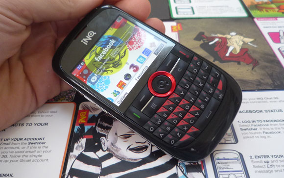 inqmobile A review of the INQ Chat 3G phone, the self proclaimed Ultimate Social Tool