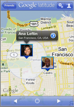 latitude 260x374 Official Google Latitude iPhone app returns to the Store
