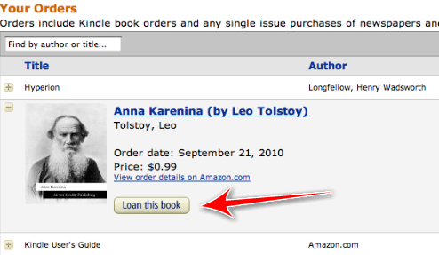 lend Amazon now lets you Lend your Kindle books to others