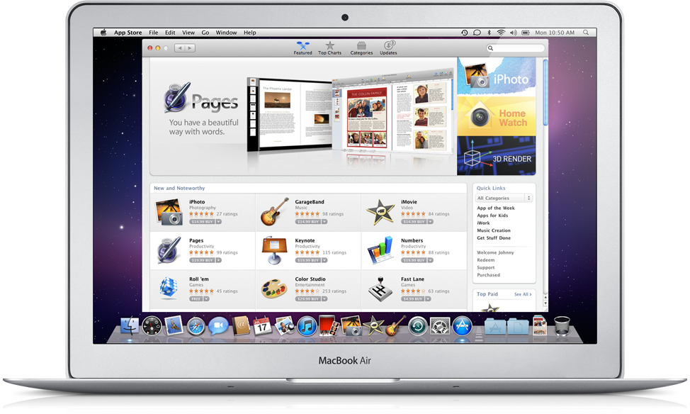 macapp1 Apple confirms Mac App Store won't support Game Center or in app purchases
