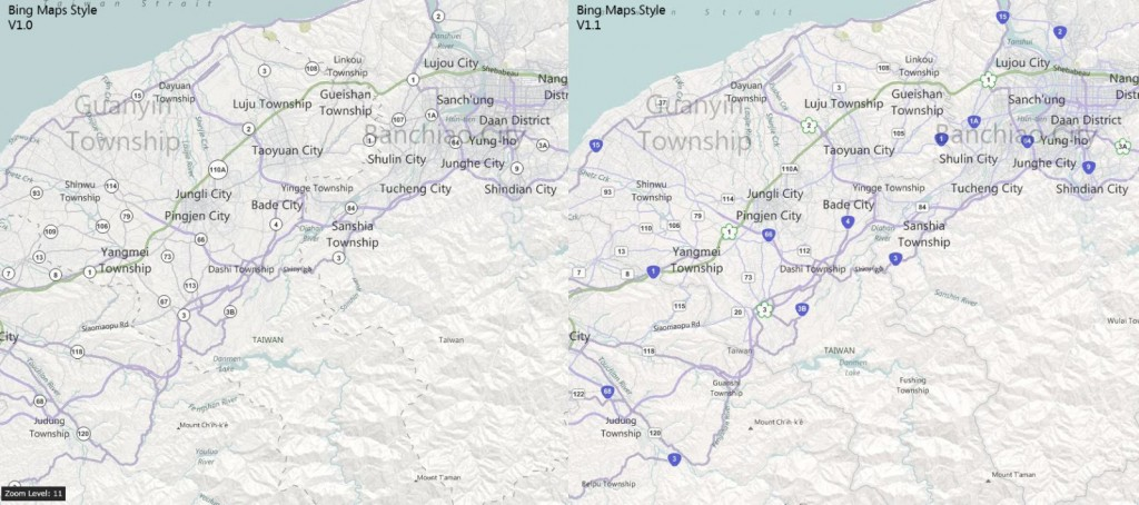 maps 1 1024x454 Bing has reworked its map interface for greatly improved readability