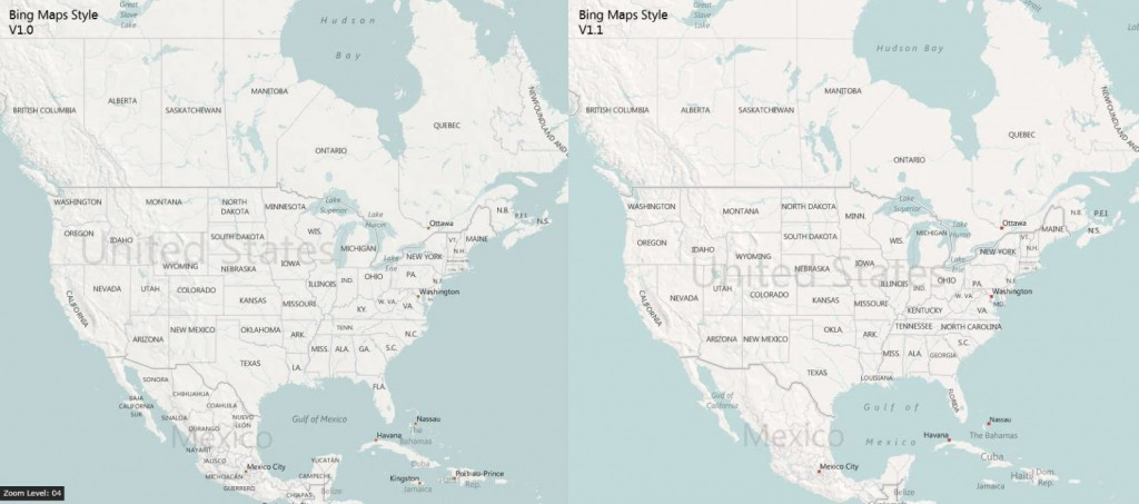 maps 2 1024x453 Bing has reworked its map interface for greatly improved readability