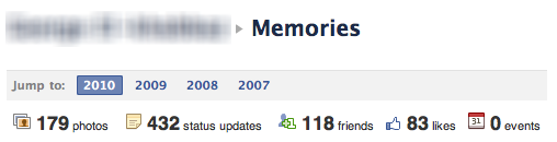 memories Facebook: Who just pressed the big red button?
